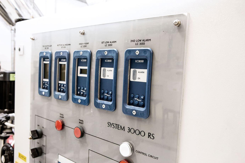 Boilerhouse Level Controls Panel
