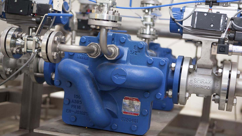 Mechanical Pump installation